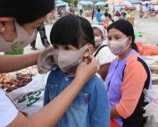 Myanmar distribuzione mascherine covid19 icei